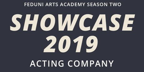 Acting Showcase 2019 tickets