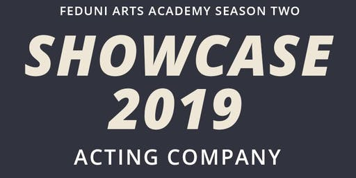 Acting Showcase 2019