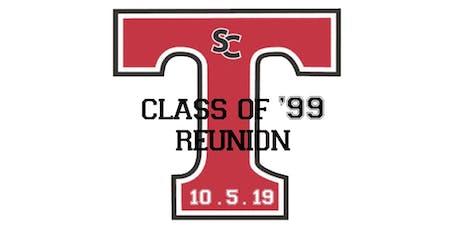 20 Year Reunion -- SCHS Class of '99 tickets