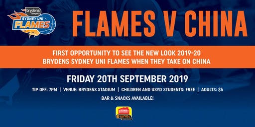 Brydens Sydney Uni Flames V China