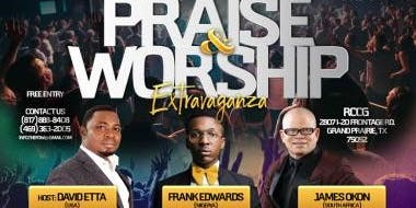 FRANK EDWARDS LIVE IN DALLAS FOR A PRAISE & WORSHIP EXTRAVAGANZA 09/28