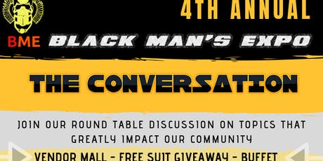4th Annual Black Man's Expo 2019 tickets
