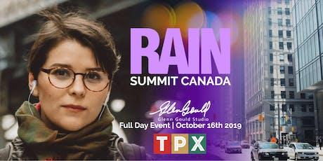 RAIN Summit Canada 2019 TPX Guests tickets
