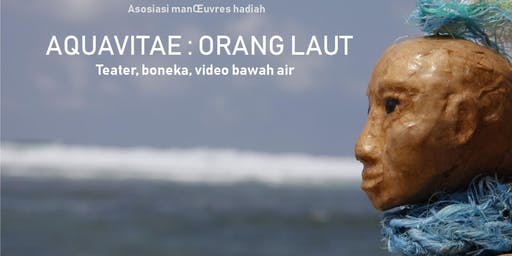 "Teater boneka dan video bawah air ""AQUAVITAE"""