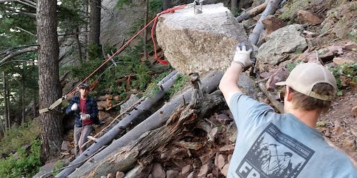 Oct 2nd - 18th  3rd Flatiron Descent Trail Volunteer Opportunity