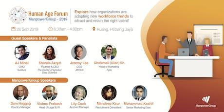 Human Age Forum 2019 - Kuala Lumpur tickets