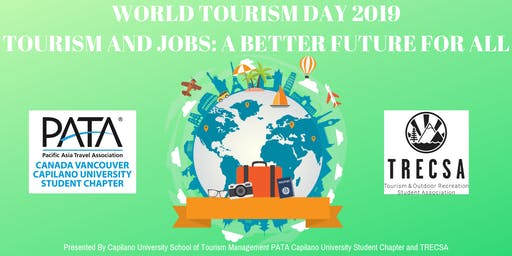 World Tourism Day 2019 - Tourism and Jobs: A Better Future for All
