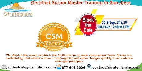 Certified Scrum Master (CSM) Training in San Jose-Sept 28,29-2019 tickets