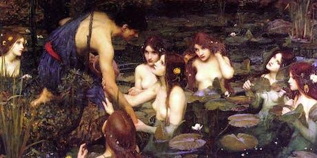 John William Waterhouse, betoverd door vrouwen tickets