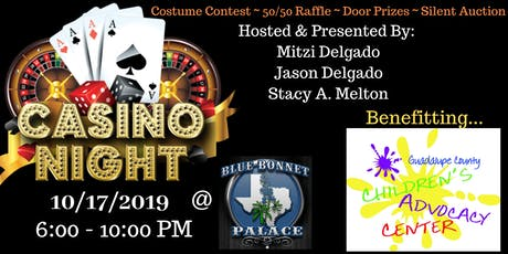 ALL TREATS; NO TRICKS, a Casino Night Benefitting GCCAC tickets