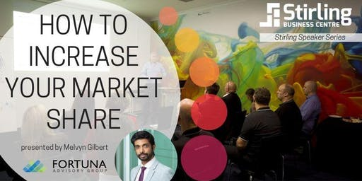 Stirling Speakers: How to Increase Your Market Share