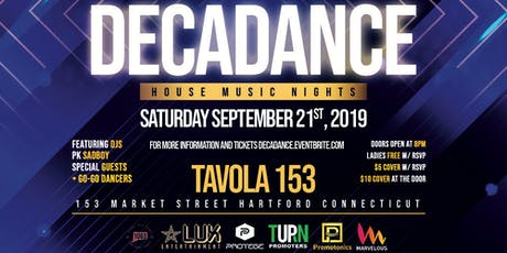 Decadance | House Music Nights tickets