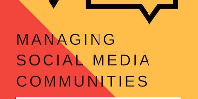 Managing Social Media Communities workshop