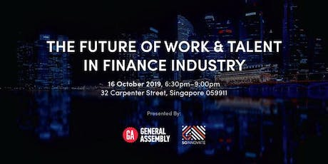 The Future of Work and Talent in Finance Industry tickets