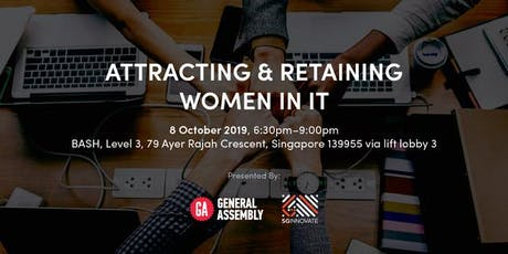 Attracting and Retaining Women in Tech tickets