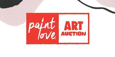 Fourth Annual Paint Love Art Auction