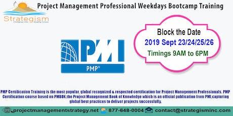 PMP weekdays Bootcamp in San jose-Sept-23,24,25,26-2019 tickets