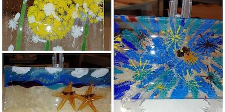 Half Day: Painting on Glass w/ Kathy Oda tickets