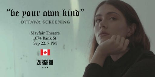 "Zargara Presents: ""Be Your Own Kind"" Film Screening"