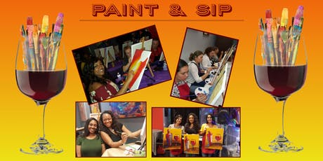 Friday Night Paint and Sip   Sugar Land tickets