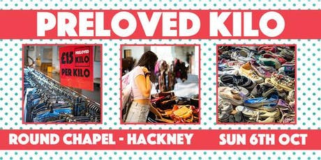 Hackney Preloved Vintage Kilo tickets