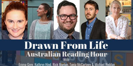 Drawn From Life - Australian Reading Hour  tickets