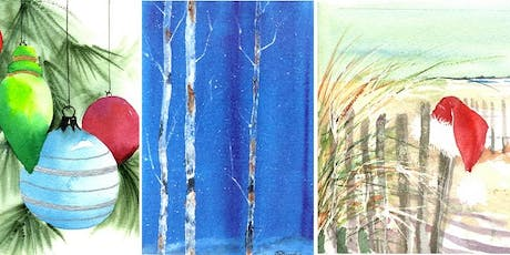 "3 Days: Watercolor Holiday with ""Tricks of the Trade"" w/ Wendy Cunico tickets"