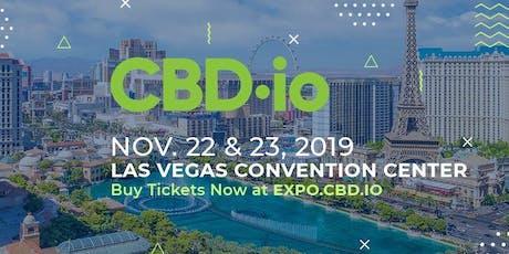 CBD.io Expo Las Vegas 2019 tickets