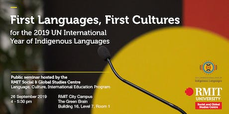 First Languages, First Cultures tickets