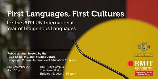First Languages, First Cultures