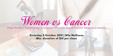 Women VS Cancer: Breast Cancer Awareness Fundraising tickets