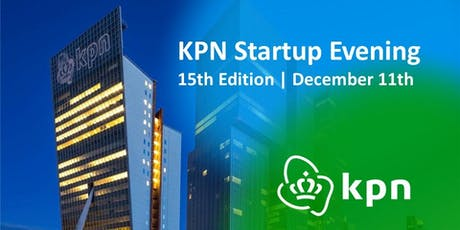 KPN Startup Evening - 15th Edition tickets