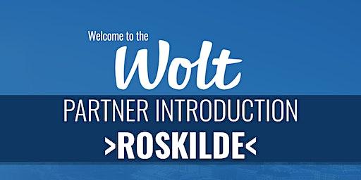 Wolt Partner Intro - >Roskilde<