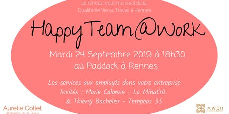 HappyTeam@Work Rennes #8 billets