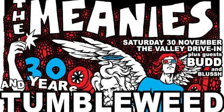 THE MEANIES & TUMBLEWEED with Special Guests BUDD and Blussh tickets