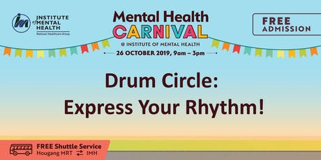 Drum Circle: Express Your Rhythm! tickets