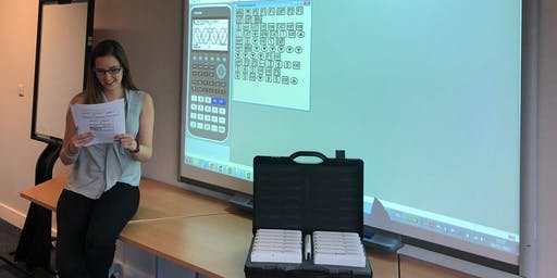 Casio fx-CG50 training: Hills Road Sixth Form College