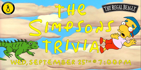 Simpsons Trivia w/ Hangman tickets