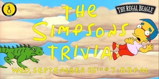 Simpsons Trivia w/ Hangman