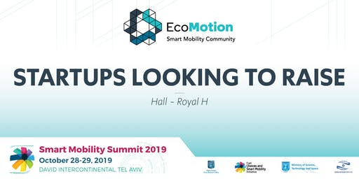EcoMotion Session - Startups Looking to Raise