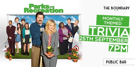 PARKS & REC trivia at THE BOUNDARY tickets