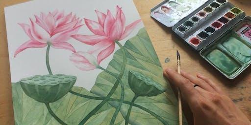 florale Aquarelle
