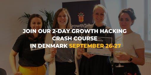 2-DAY Growth Hacking Crash Course in Copenhagen