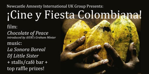 Newcastle AI Group Present: ¡Cine y Fiesta Colombiana!