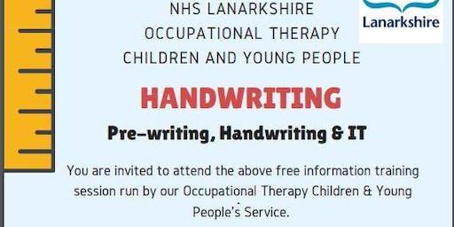Handwriting, Pre-writing and I.T