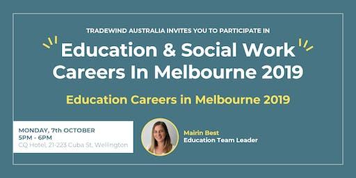 Education Careers In Melbourne 2019 - Wellington