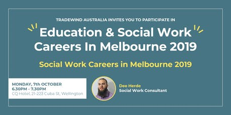 Social Work Careers In Melbourne 2019 - Wellington tickets