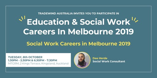 Social Work Careers In Melbourne 2019 -North Auckland