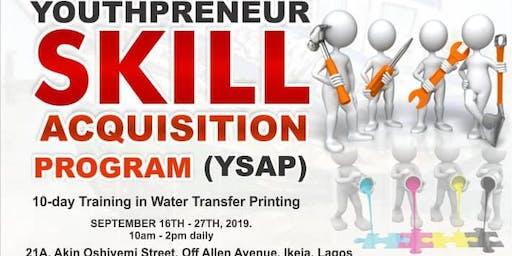 Youthpreneur Skills Acquistion Program (YSAP)