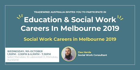 Social Work Careers In Melbourne 2019 - South Auckland tickets